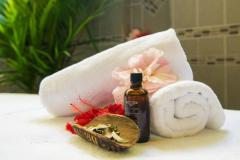 Pamper yourself at the Daintree Wellness Spa featuring Li'tya pure Australian botanicals range.