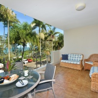 Palm Cove Beachfront Apartments - Senna Apartment - Ocean view balcony | Palm Cove Accommodation
