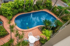 Paringa Swimming Pool - Paringa Beachfront Holiday Apartment Palm Cove