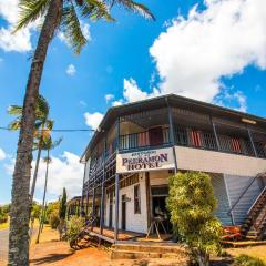 Peeramon Hotel a place for a frosty on your helicopter pub crawl from Cairns