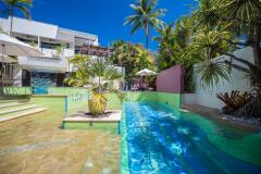 Heated Jacuzzi & Swimming Pool at Adult only Boutique Resort Port Douglas, eninsula Swimming Pool