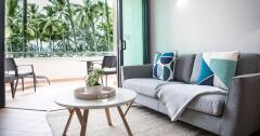 Modern Ocean View Apartment located on Four Mile Beach, Port Douglas