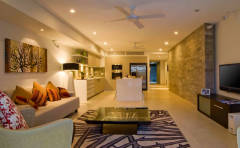 Penthouse Lounge Room  - Stunning Holiday Apartments Port Douglas