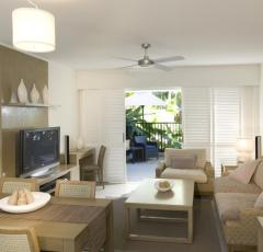 1, 2 & 3 Bedroom Suites at Peppers Beach Club Resort Port Douglas