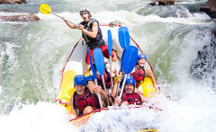 Photo Courtesy of Raging Thunder - Tully River White Water Rafting