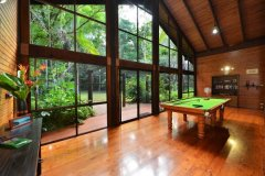 Play some pool at Wait a While Daintree Retreat