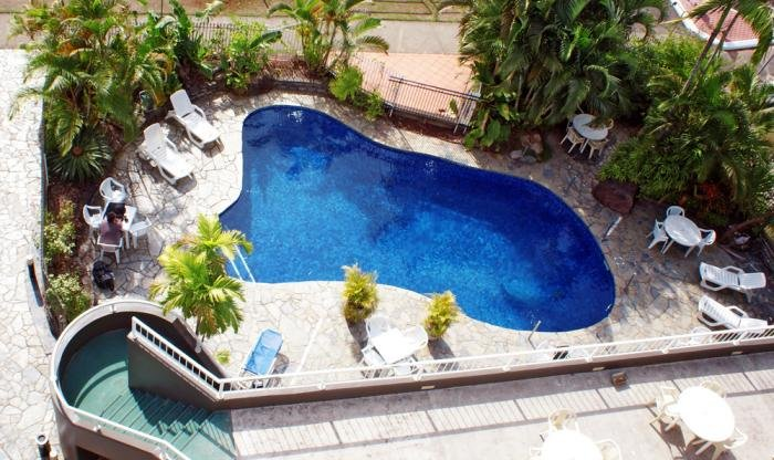 Cairns Accommodation-Outdoor Swimming Pool at Cairns Plaza Hotel