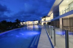 Pool Resort Port Douglas at Evening