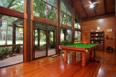Pool Table At Wait A While Daintree Rainforest Retreat
