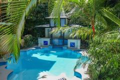 Saltwater Swimming Pool - Heated during Winter - Port Douglas Adult Only Deluxe Accommodation