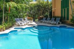 Saltwater Swimming Pool - Heated during Winter | Port Douglas Adult Only Deluxe Accommodation