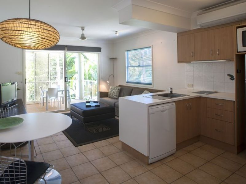 Relax On Your Private Balcony In And Adult Only Resort Kitchen U0026 Lounge  Facilities   Port Douglas Adult Only Apartments