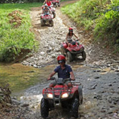 Port Douglas ATV quad bike tours are perfect for wedding groups