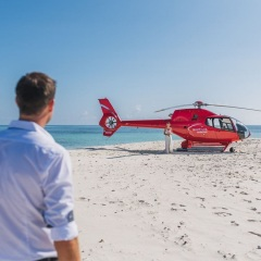 Port Douglas Helicopter Flights to Sand Cay