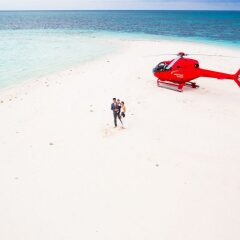 Port Douglas Helicopter Flights to Sand Cay - Wedding on Sand Cay