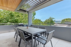 Enjoy outdoor dining in your private Port Douglas Holiday Home - MS1/23