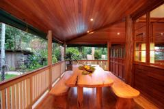 Stunning timber features throughout this Queenslander style Port Douglas Holiday Home