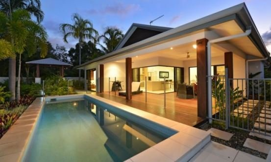 Port Douglas holiday homes Spacious Outdoor Living with Private Swimming Pool