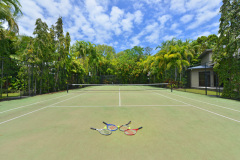 Tennis Facilities - Port Douglas Luxury Holiday Home