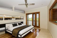 One of Four Spacious Bedrooms - Port Douglas Luxury Villa