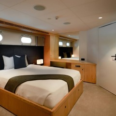 Port Douglas Superyacht Charter | Bedroom
