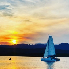 Port Douglas Yacht charter - Sunset Sailing on the Great Barrier Reef