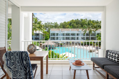 Palm Cove Beach Club Apartments with private balconies