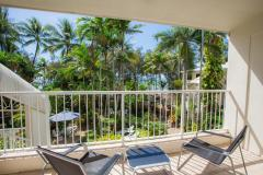 Private balconies, most with ocean and island views - - Palm Cove Holiday Apartments