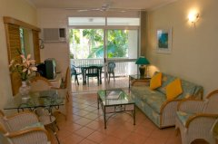 Private Balcony - Port Douglas Coral Apartments