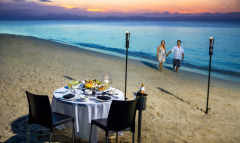 Private Beach Dining - available on request