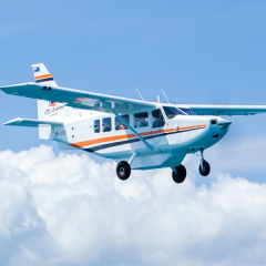 Private charter aircraft (Actual aircraft subject to your requirements)Undara Lava Tubes tour