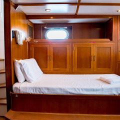 Whitsundays Private Charter Yacht - Aft Cabin