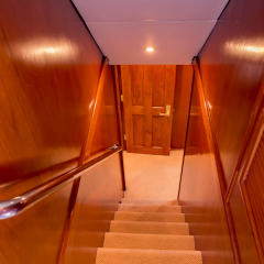 Private Charter Boat - Stairwell To Cabins