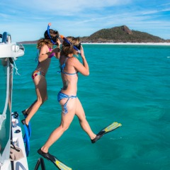Private Charter Boat | Snorkel on the Great Barrier Reef