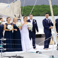 Private Charter Boat Wedding in Port Douglas Australia