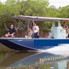 Private charter fishing tours in Cairns