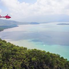 Private charter flgiht over the Great Barrier Reef and Daintree Rainforest