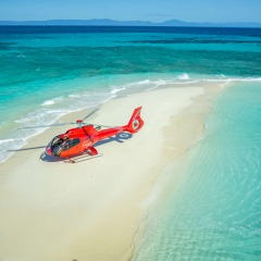 Helicopter Flights Cairns - Cairns Private charter helicopter snorkel tour on the Great Barrier Reef