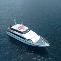 Cairns Private Charter Boat Aerial View | Great Barrier Reef Charter Boat
