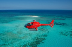 Private helicopter transfers to your luxury holiday home available on request - Mission Beach Luxury Accommodation
