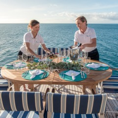 Private Luxry Charter Boat | Dedicated Crew and Chef