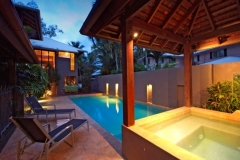 Private Outdoor Pool & Spa -  Port Douglas Luxury Holiday House