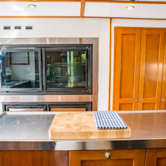 Private Overnight Charter Boat - Galley Kitchen