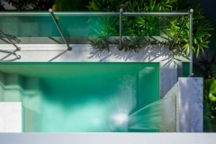 Private Plunge Pool with tranquil water feature