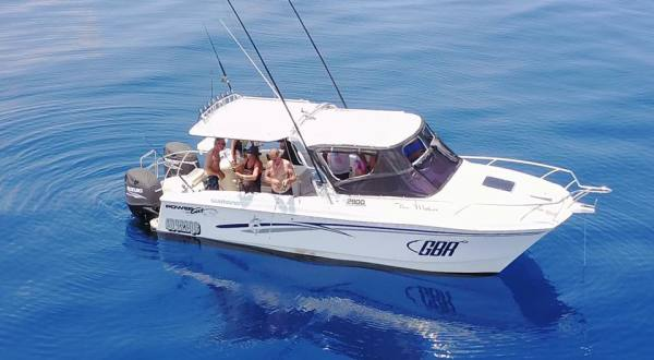 Private Reef Fishing Charters | 31Ft Powercat 2900