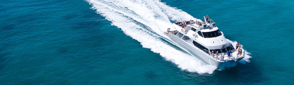 Cairns charter boats - Private sunset charter cruise