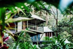 Private Tree house style accommodation amongst the Rainforest