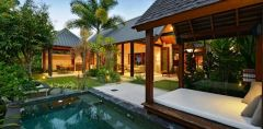 Private holiday homes with Private Heated Plunge Pools & Poolside Pavillion