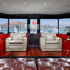 Private Charter Boat | Fly deck saloon