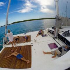 Private Yacht Charters Port Douglas - Forward Deck